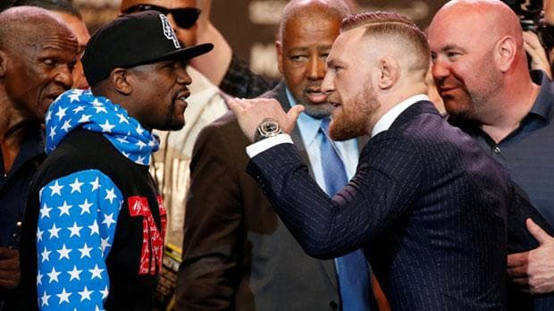 McGregor vs. Mayweather is completely dumb, and I love it.